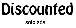 Discounted Solo Ads logo